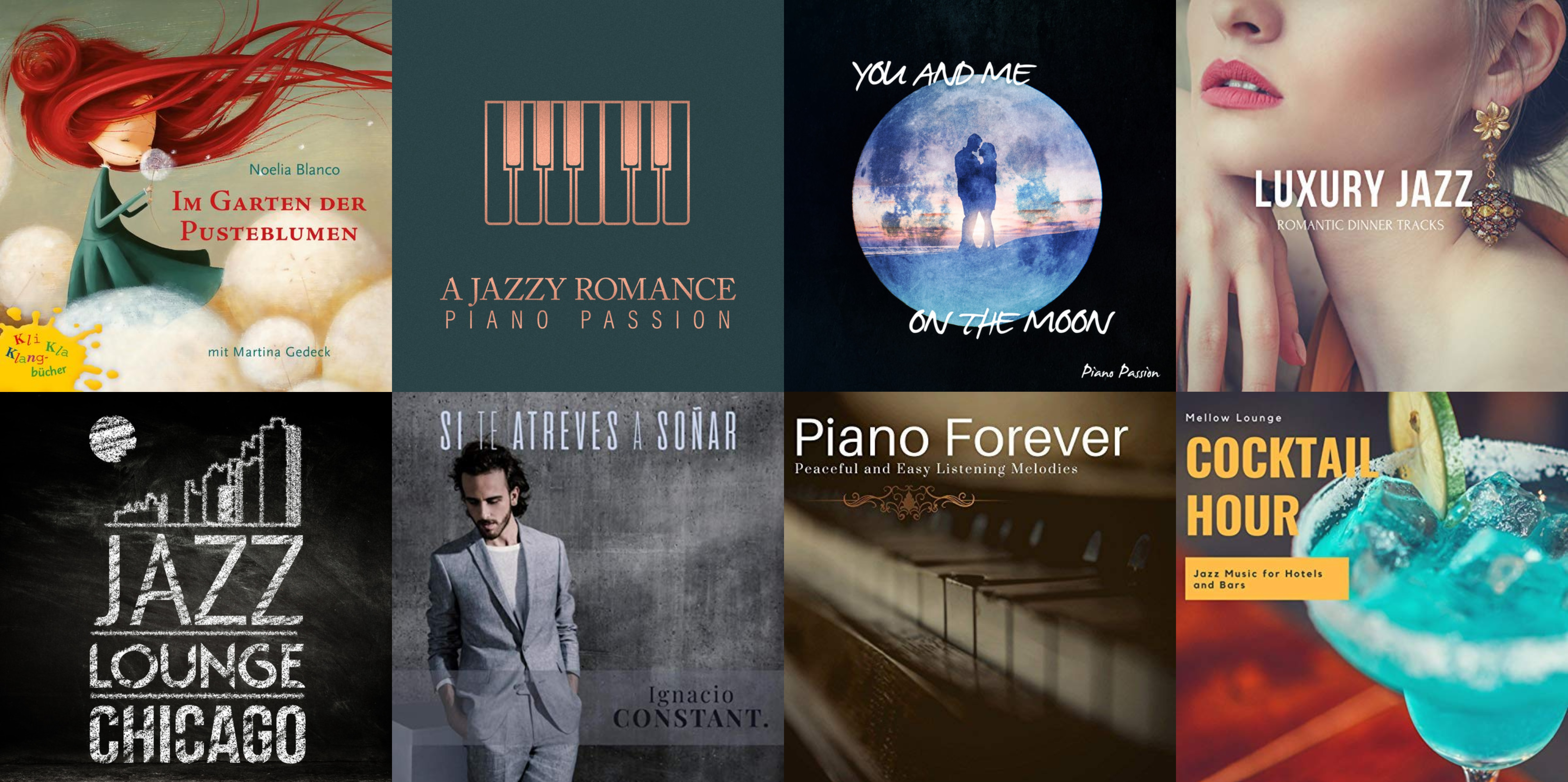 CD Releases Productions Collage